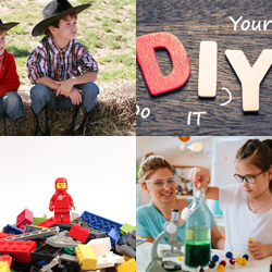July 5-9 | Howdy Cowboy</br> July 12-16 | DIY Week</br> July 19-23 | LEGO Week</br> July 26-30 | Crazy Science</br></br>$775.00